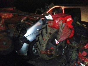 Samsat'ta kaza: Bir ölü 6 yaralı