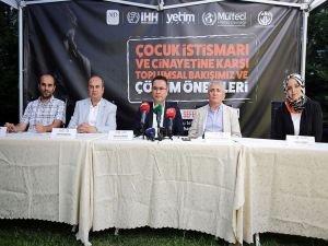 STK'lar Çocuk istismarı ve cinayetine karşı bir araya geldi