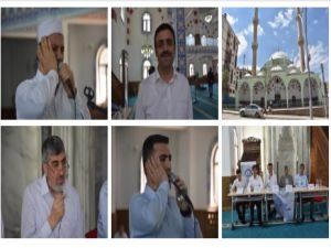 """Şırnak'ta """"Ezanı Güzel Okuma Yarışması"""" bölge finali yapıldı"""