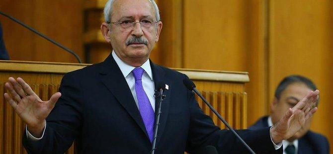 Kılıçdaroğlu, meclis başkanına mektup gönderdi