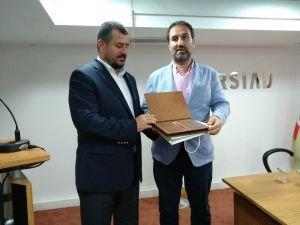 Mustafa Şen DERSİAD üyeleri ile buluştu