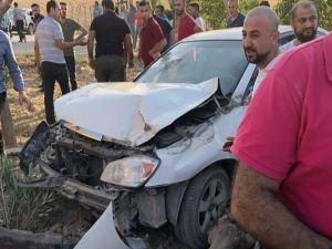 Mıcırlı yolda bir kaza daha: 1 yaralı