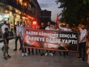 """Siirt'te """"Milli Birlik Yürüyüşü"""" yapıldı"""