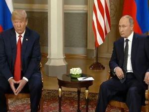 Putin ile Trump arasındaki zirve başladı