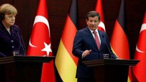 Başbakan Ahmet Davutoğlu, Angela Merkel ile görüştü