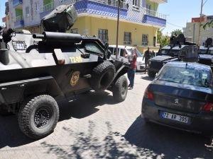 Batman'da DEDAŞ ve polis ekibi ile mahalleli arasında arbede