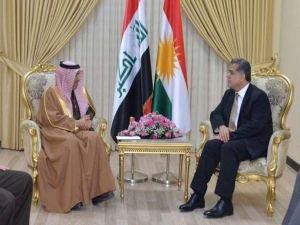 Suudi Arabistan'dan Erbil'e ziyaret