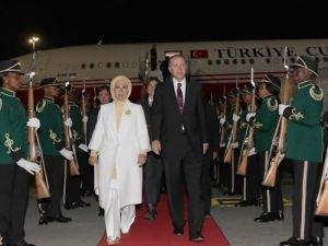 Cumhurbaşkanı Erdoğan Güney Afrika Cumhuriyeti'nde