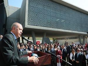 """Erdoğan: """"FETÖ'nün, Güney Afrika topraklarını kirletmesine izin vermeyeceğiz"""""""