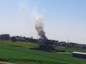 Nusaybin'de askerin ev araması sırasında bomba patladı