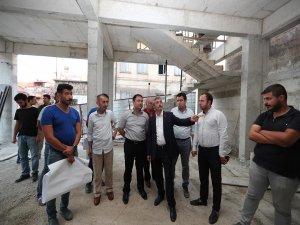 """Gaziantep'te """"Her Mahalleye Bir Sosyal Tesis"""" projesi"""