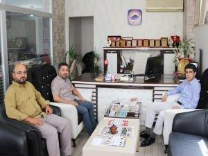 Başsavcı Akgün'den gazetecilere veda ziyareti