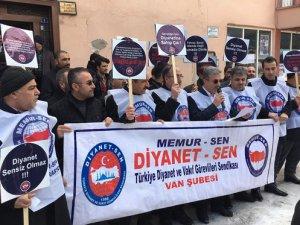 Van'daki din görevlilerinden Diyanet'e destek
