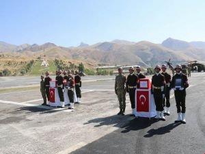 PKK saldırısında hayatını kaybeden anne ve bebeği için tören düzenlendi
