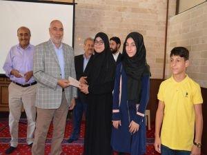 Kur'an kursları arası dini bilgiler yarışması yapıldı