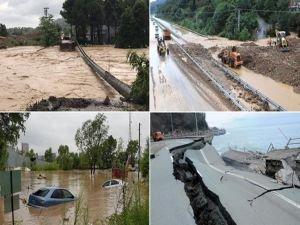 Ordu'da sel felaketi: 165 kişi mahsur kaldı