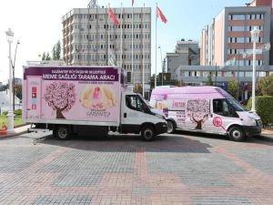 Belediyeden ücretsiz 'Mamografi' hizmeti