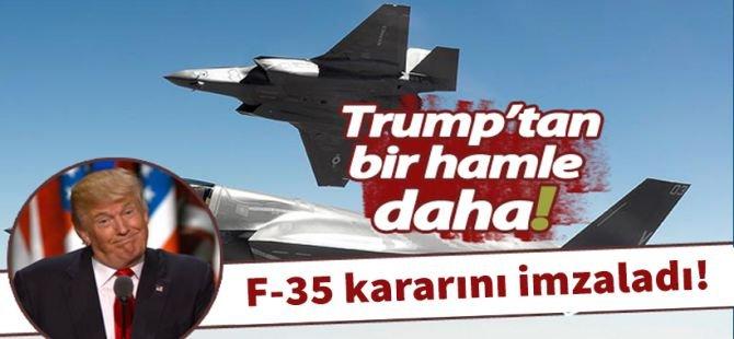 F-35 savaş uçaklarının teslimatı askıya alındı