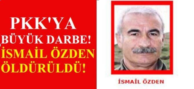 PKK'ya büyük darbe! İsmail Özden öldürüldü!