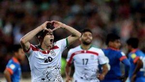 İran milli futbol takımı Hindistan'ı yendi