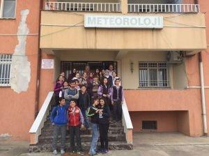 Batman'da öğrenciler, Meteoroloji Müdürlüğünü ziyaret etti
