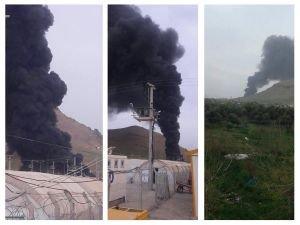 Çadır kentte 21 çadır yandı!