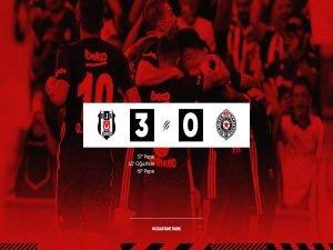 Beşiktaş turu rahat geçti: 3-0