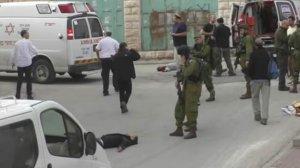 Terörist İsrail askeri, sokak ortasında Filistinli'yi şehit etti