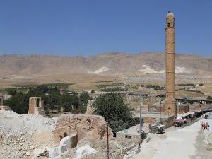 Hasankeyf'te taşınamayan eserler yerinde korunuyor