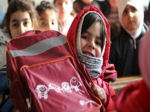 Suriye'de 2 milyon çocuk okula gidemiyor