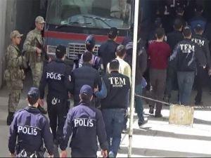 Suriye sınırında yakalanan IŞİD mensubu 9 kişi tutuklandı!