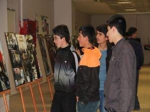 Van'da 'Mustazaflar' resim sergisi