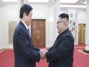 Xi'nin özel elçisi, Kim Jong-un'la görüştü