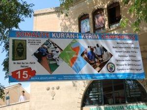 Somalili hafızlık öğrencileri için Kur'an-ı Kerim kampanyası