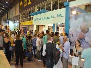 Batman tanıtım standı İzmir Fuarı'nda ilgi odağı oldu