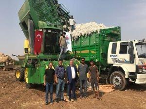 Viranşehir'de pamuk hasadı başladı