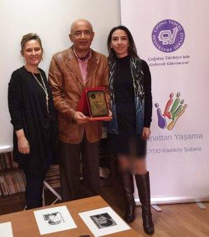 Ekslibris Sanatçısı Hasip Pektaş Seminer&Workshop'u Gerçekleştirildi