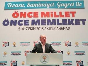Cumhurbaşkanı Erdoğan: Cezaevlerini boşaltmak için af çıkarılmaz