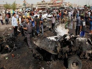 Bağdat'ta patlamalar: Ölü ve yaralılar var
