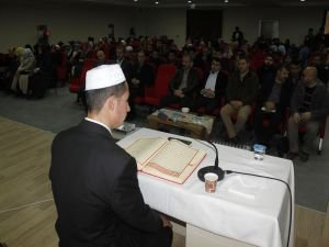 Van'da Kur'an-ı Kerim'i güzel okuma