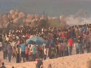 Siyonistler 61 Filistinliyi yaraladı