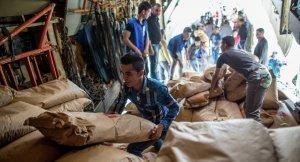 Rusya'dan Deyr Ez Zor'a 28 ton insani yardım