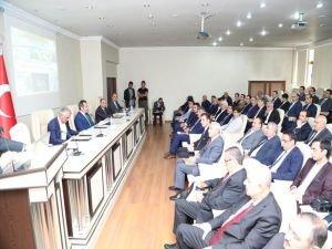 Bingöl Koordinasyon Kurulu toplantısı yapıldı