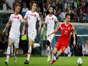 A Milliler Rusya'da kayıp: 2-0