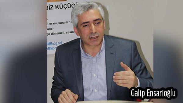 Galip Ensarioğlu: Kandil barışı kirli ittifaka sattı