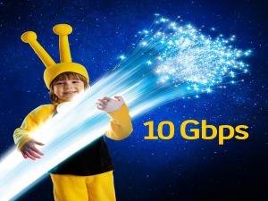 Işık hızındaki internet 10 kat hızlanıyor