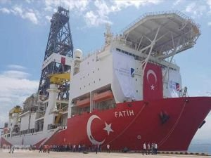 Fatih sondaj gemisi yeni görevi için yola çıktı