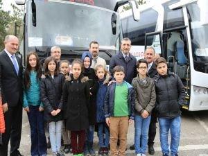ATO Çankkale'ye öğrenci gönderdi