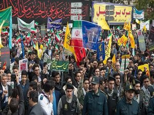 İran'da ABD ve siyonist işgalciler telin edildi