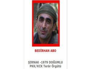 Kırmızı kategoride PKK'lı öldürüldü